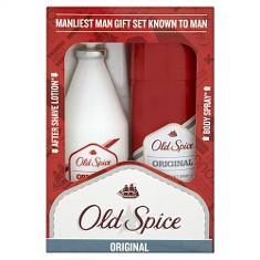 Old Spice original deodorant and aftershave