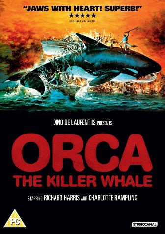 Orca The Killer Whale (1977) Poster