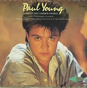 Paul Young - Love of the Common People - 1983 UK 3-track 12 vinyl single