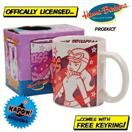 Official Penelope Pitstop Mug with keyring