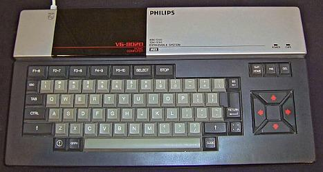 Philips VG-8020 MSX home computer from the 1980s