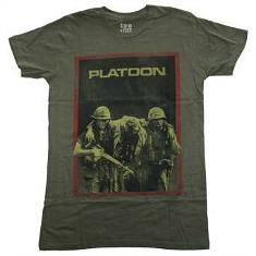 Platoon 80s Movie T-shirt for Adults