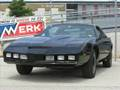 Black Pontiac Firebird Trans Am - 80s