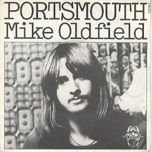Mike Oldfield - Portsmouth single sleeve