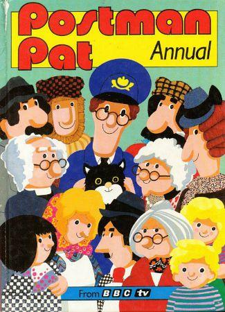 BBC TV Postman Pat Annual 1987