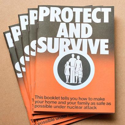 Protect and Survive booklets first published in 1980