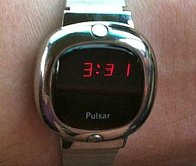 Pulsar LED Digital Watch from the 1970s