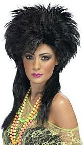 Spiky Punk Wigs for Ladies