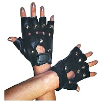Punk Mittens - Studded Gloves