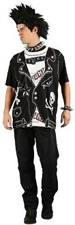 Punk Rocker costume for men