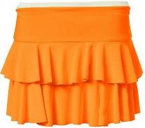 Neon Oarange RaRa Skirt for 80s Dress-Up