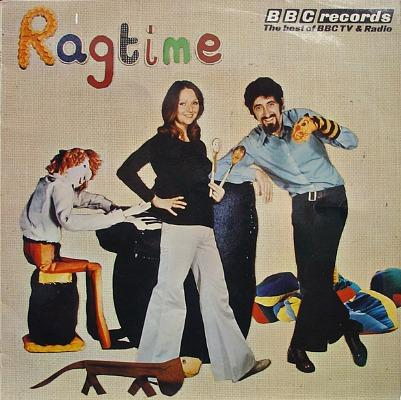 Ragtime - LP by BBC Records - ft. songs by TV presenters Maggie Henderson and Fred Harris