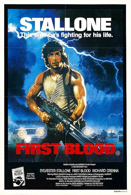 Rambo First Blood movie poster