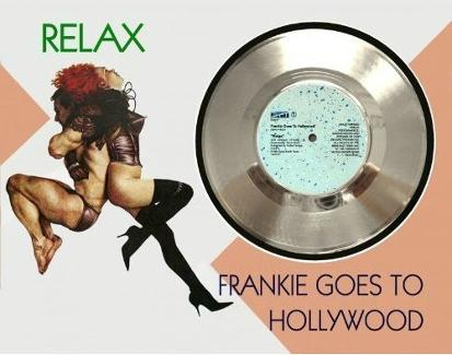 Frankie Goes To Hollywood - Relax - silver single