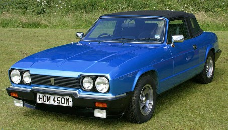 Reliant Scimitar Convertible Blue - GTC 1980