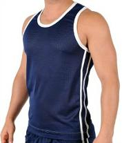 Retro 80s Style Vest/Tank Top for Men - five colour choices available