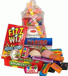 Traditional Retro Sweets Gift Jar