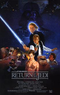 Star Wars Return Of The Jedi movie poster (1983)