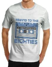 Rewind to the Eighties T-shirt for Men