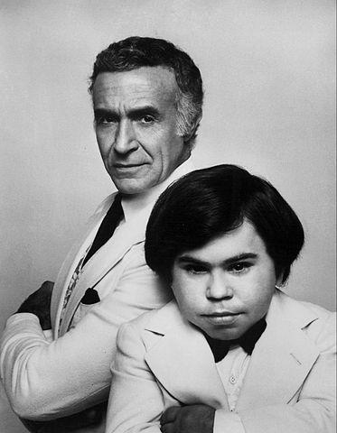 Fantasy Island - Mr. Rourke (Ricardo Montalban) and Tattoo (Herve Villechaize) in 1977