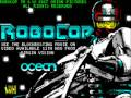 Robocop Computer Game Title Screen