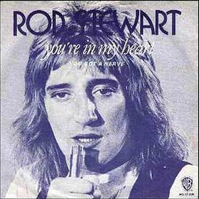 Rod Stewart - You're In My Heart (The FInal Acclaim) - vinyl single (1977) - from the album Foot Loose & Fancy Free