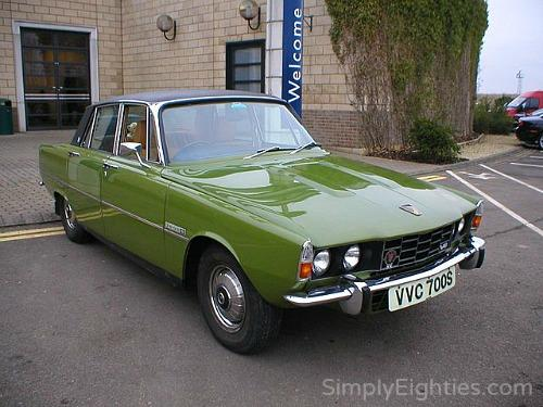 The last ever Rover P6 (built 1977)