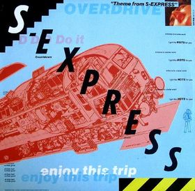Theme from S-Express single vinyl