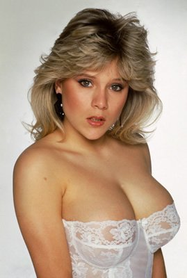 Samantha Fox showing cleavage Poster