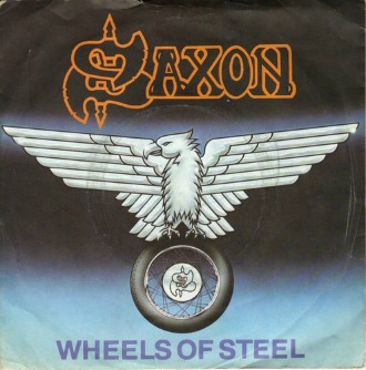 Saxon  - Wheels Of Steel (vinyl 7
