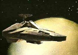 Scorpio Spaceship used is series 4 of Blake's 7