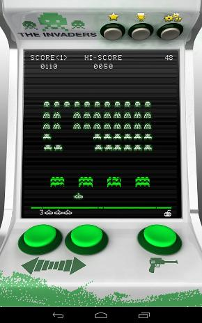 The Invaders Android Game Screenshot