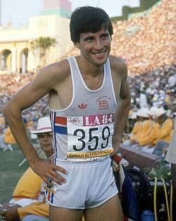 Sebastion Coe - The 80s runner won four Gold medals at the 1980 and 1984 Olympic Games