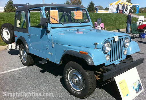 1980 Jeep CJ-7 Automatic in Teal Blue