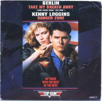 Berlin Take My Breath Away and Kenny Loggins Danger Zone - CD single