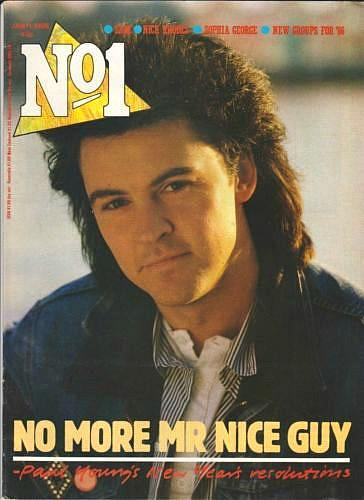 No1 Magazine (June 11th 1986) Paul Young