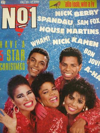 No1 Magazine Dec 20th-27th 1986 - Five Star