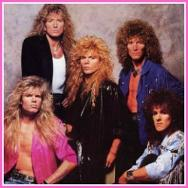 Whitesnake 80s Hair Metal Band