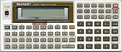 Sharp PC-1403 Pocket Computer
