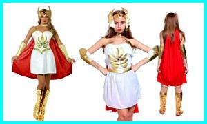 She-Ra Princess of Power Costumes