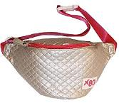 Shiny Silver Fanny Pack by X80