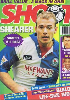 Shoot! Magazine (Jan 1996) ft. Alan Shearer