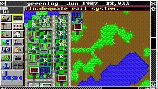 Sim City - Atari ST screenshot