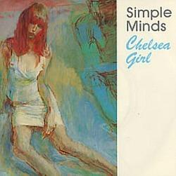 Sikple Minds - Chelsea Girl - vinyl single (1979)