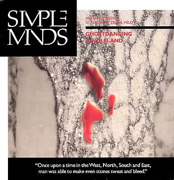 Simple Minds Ghostdancing