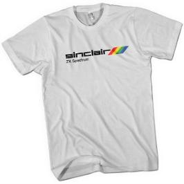White Sinclair ZX Spectrum T-shirt for Men