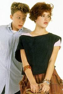 Molly Ringwald and Anthony Michael Hall - Sixteen Candles