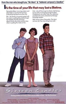Sixteen Candles Film Poster