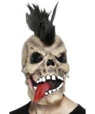 Skull Punk Rocker Mask
