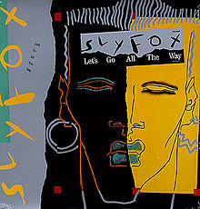 Sly Fox - Let's Go All The Way - Album Sleeve